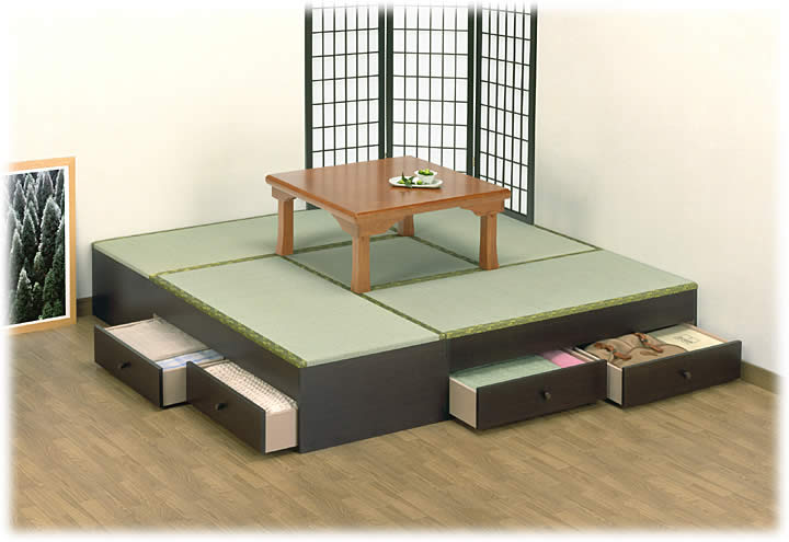 高床式畳ユニットは組み合わせ ...